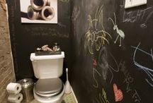 Koulutyö, wc-ideoita
