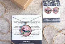 """Forest in my Heart"" Jewelry range / Nature inspired wearable art. Shop online at www.nataschavniekerk.com"