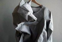 Fashion 3D, Wearable Art / Geometrical, sculptured, fabric manipulation, 3D fashion