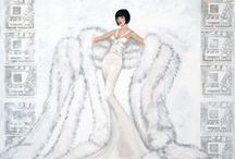 Art Deco Paintings by K / I love art deco and love to paint glamorous women who wear them. / by kay robinson