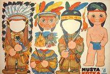 indiens et ........ !!!!! / by nanou leroy