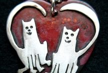 Cat Bliss_Cat Jewelry, Cat Metal art, Cat notecards, & Kitties to meow about / Cat Bliss_Cat Jewelry, Cat Metal art, Cat notecards, & Kitties to meow about. #Cat art #Cat decor #Cat welcome signs #Cat Wall Hooks#Kitty art#Kitty jewelry#Cat ID tags #Custom Cat jewelry #Cat lover gifts #Silver cats #Sterling cat jewelry