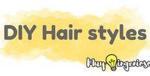 DIY HAIR STYLES / Beautiful hair ideas Ideas de peinados Brazilian Hair   Peruvian Hair Malaysian Hair Indian Hair Straight hair  Body Wave Loose Wave Deep Wave Hair Christmas hair ideas Ideas de peinados navideños