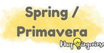 SPRING & PRIMAVERA / Spring is coming! :) Ya llega la primavera! :P