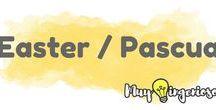 EASTER & PASCUA / Find those eggs!! // Encuentra esos huevos!!
