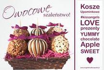 Gift Baskets / Delicious fruit baskets for gift!  Smakowite kosze upominkowe z owocami na prezent!