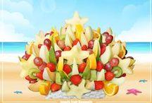 Fruit Bouquets / Amazing Fruit Bouquets from Warsaw!  Zadziwiające bukiety owocowe z Warszawy!