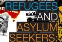 Vluchtelingen en asielzoekers / Refugees and asylum seekers / by Arie Schalekamp