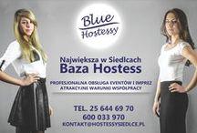 hostessy / Największa w Siedlcach Baza Hostess i Hostów  profesjonalna obsługa eventów, konferencji, bankietów, gal, premier, imprez integracyjnych, targów, stoisk promujących firmy i produkty