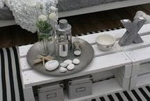 ♡ Pallets and Wood Boxes Projects ♡ / #pallets #diy #wood #woodstyle