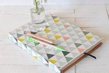 ✍ --Papeleria bonita--✍ / #paper #notebook #washitape #calendar