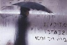Raining in Art