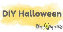 HALLOWEEN / halloween diy, halloween cake, halloween crafts
