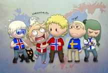 """Scandinavia and the world / A collection of the best """"Scandanavia and the world"""" comics"""