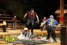 Our Show / Our ESPN Lumberjacks compete in 18 thrilling, axe swinging, chainsaw roaring events!
