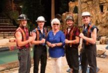 Guests of Lumberjack Feud / Send your family picture to us at info@lumberjackfeud.com and we'll add you to our board!
