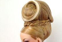 Cabelos / chapéus bonecas modelos / by Uliana Catenaci