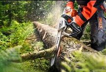 STIHL / We're proud partners with STIHL, America's Number One chainsaw!