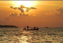 Malediven / http://fernwehblog.net/top-10-wallpaper-sonnenuntergang-auf-den-malediven/