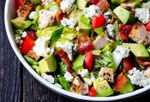 Summer Salads / Salads, vegetables, side dishes, salad for main dishes too. Filling and healthy salads, with meat, vegetarian or pasta salads.