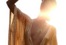 Rise and Shine / Lois London customs made beaded silk garments