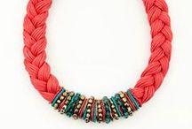 Collares de Trapillo / Diseños sencillos y resultados preciosos