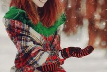 Cozy in Plaid / Brrrr! It's cold out there! But you can keep warm as a lumberjack climbing a speed pole with these cozy plaids and flannel ideas!