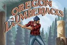 Retro Lumberjack Art / Vintage and retro artwork of lumberjacks.