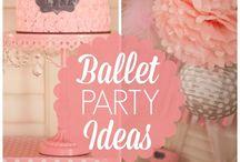Ballerina Party İdeas / Ballerina Party İdeas