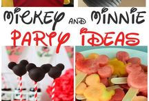 Minnie & Mickey Mouse Party İdeas