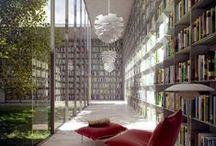 Library / Kirjasto