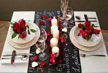 Cena de San Valentín / Detalles sencillos y fáciles para decorar la mesa el día de San Valentín. Pegatinas, fieltros, telas de tisú para hacer caminos en la mesa, papeles, washitape, cartulinas...y todo lo que puedas imaginar lo encontrarás en nuestra tienda de manualidades Centroartesano.es