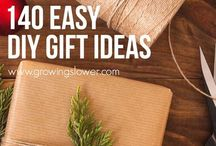 DIY Gift Inspiration / Quick & easy items to make for gifts