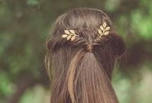 Natural Haircare & Pretty Styles | Kapsels / Inspiration for pretty hair styles and natural, cruelty-free haircare products. Haar, kapsels.