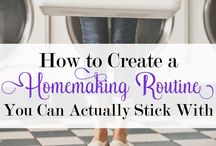 Homemaking Inspiration / Anything homemaking related: cleaning, homemade products, scheduling, etc.