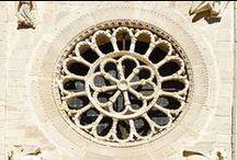 Rosoni in Umbria / rose windows