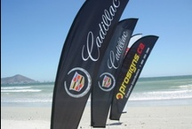 High Flying Banners / Right Stuff has a wide variety of high-flying flags and banners available, all of which are essential outdoor advertising accessories. Our High Flying Banner's presence at any sports event or outdoor function is hard to miss, particularly when grouped together. They are all lightweight, portable and very easy to put up.