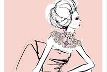 Fashion illustration / by XIN LER