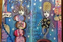 Art journaling / Mixed Media