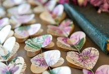 Cool Artistic Wedding Ideas / So you've done your Drawn to Men Art Party for your truly unique and artistic stagette, now we've gathered some fun artistic ideas for your wedding!
