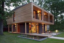 Maisons solaires passives