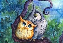 Owl objects and photos / by heather hobson