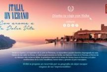 ITALIA EUROPA / ITALY EUROPE  NUBA Un verano con aroma a la Dolce Vita / Desde la riqueza y el esplendor de su arte en Florencia, su maravilloso pasado histórico impregnado en cada rincón de sus calles en Roma, su sabrosa  gastronomía en Sicilia, sus famosos vinos en la Toscana,  el fervor de su vibrante vida social en Milán, la grandiosa ópera de Verona, hasta  la frescura y el sabor mediterráneo de la costa Amalfitana,  hacen único y genuino al país transalpino. NUBA te propone un recorrido por su geografía sin dejar escapar ninguno de sus 'imprescindibles'.
