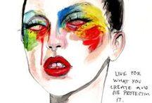 Gaga FanArt MonsterArt / #ladygaga #littlemonsters #fanart #littlemonstersart #artpop