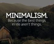 Minimalismus - Einfache Wege, weniger zu haben, um mehr zu sein / Tipps & Tricks, wie man dank eines reduzierteren Lebens mehr Lebensqualität gewinnt.