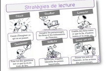 Classe - Lecture compréhension, stratégies / by Linesey