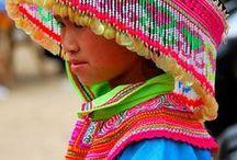 Porter des Couleurs (Wearing Colours) / teintes, impressions, tissages, porter des couleurs et resplendir !