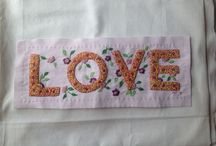 embroidery / love....!