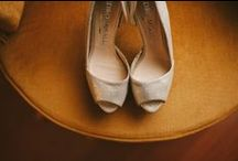 Wedding dresses and shoes / Beautiful wedding dresses and shoes for the big day