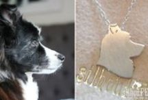 Custom Gift Ideas / Do you love your fur-baby like no other or know someone who does? Here's our gift solution for you: sterling silver & gold silhouette keepsakes featuring adorable profiles of your favorite four-legged friends. Great for birthdays, Mother's & Father's Day, and is a sentimental way to memorialize the bond of a beloved animal-companion. www.silhouPETte.com
